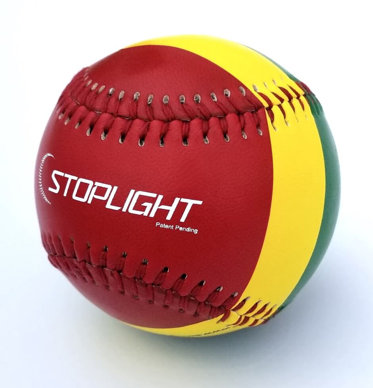 STOPLIGHT THROWING MECHANICS TRAINING BALL