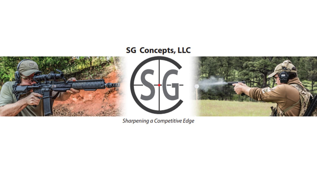 SG Concepts Tune Up, January 22nd, 2021 - The Gun Run Store