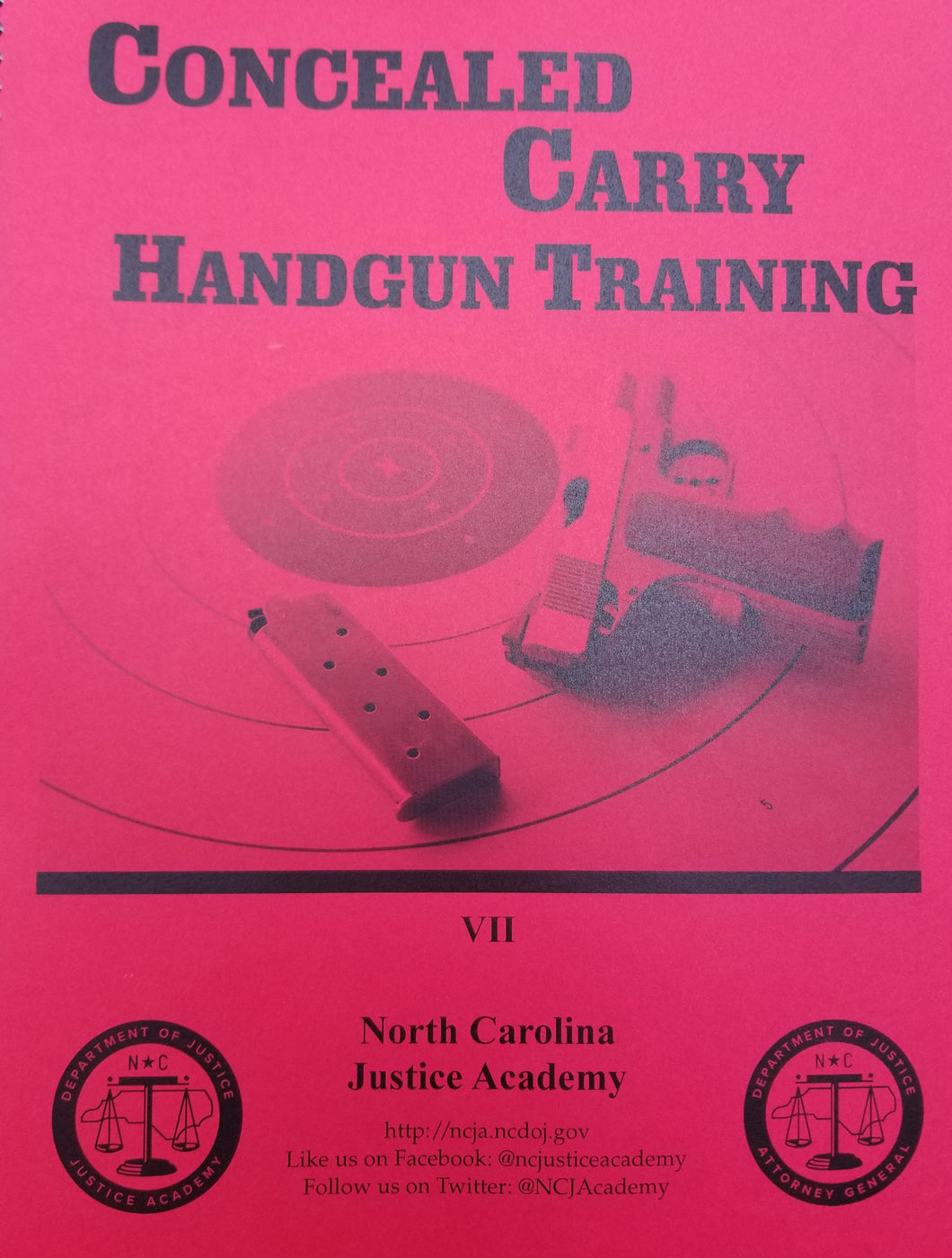 North Carolina Concealed Handgun Permit Class - The Gun Run Store
