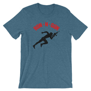 Running Man T-Shirt - The Gun Run Store