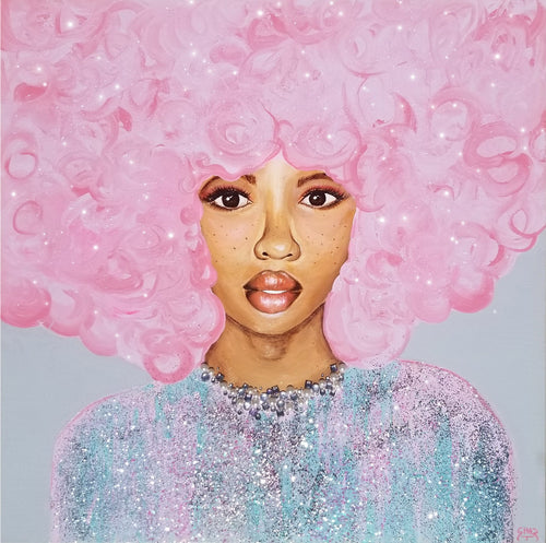 Cotton Candy Dreams  Original Painting