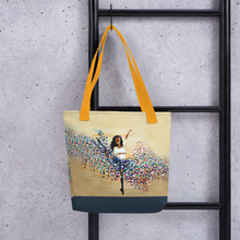 Load image into Gallery viewer, Twirl of Color Tote bag
