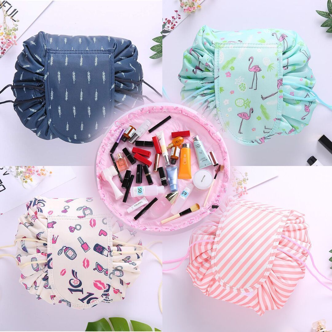 Portable Fashion Cosmetic Bag-Large Capacity