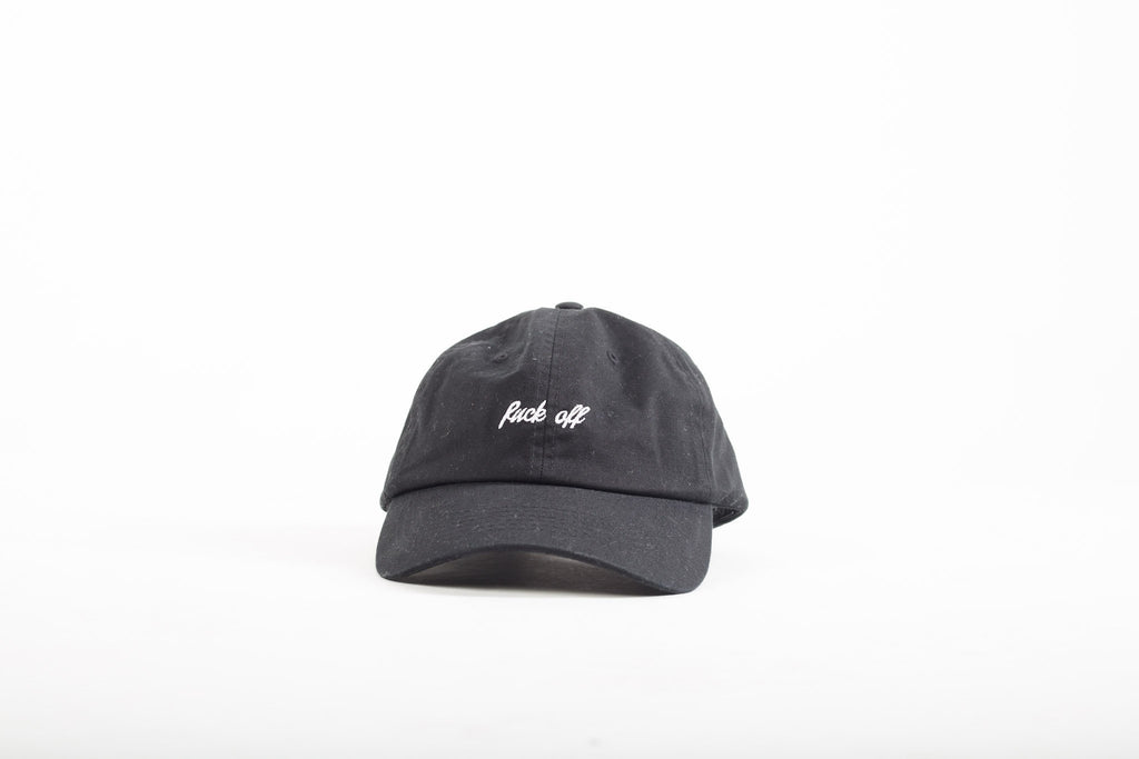 Fuck Off Hat | Black - Murderous Clothing
