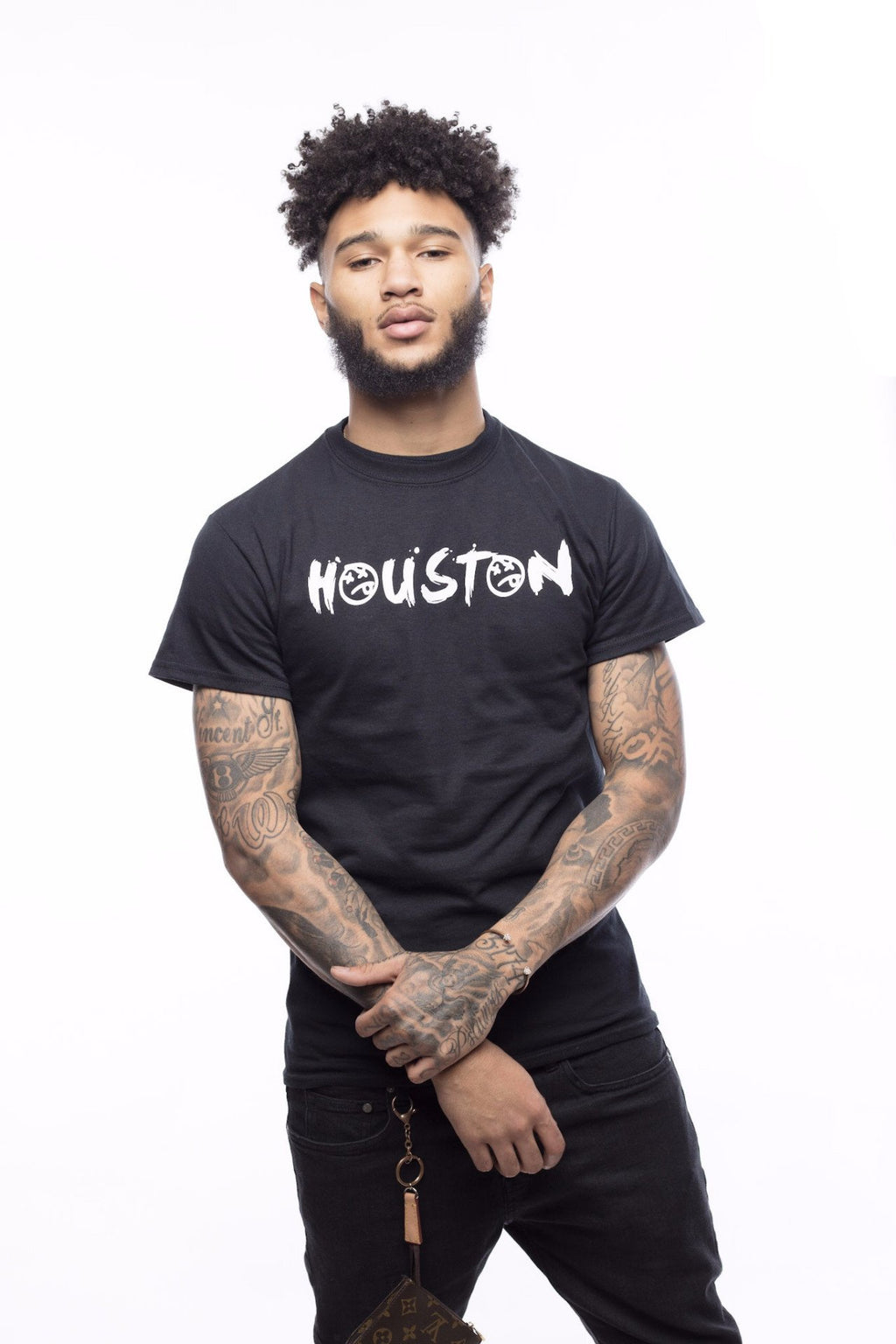 Houston Tee | Black - Murderous Clothing