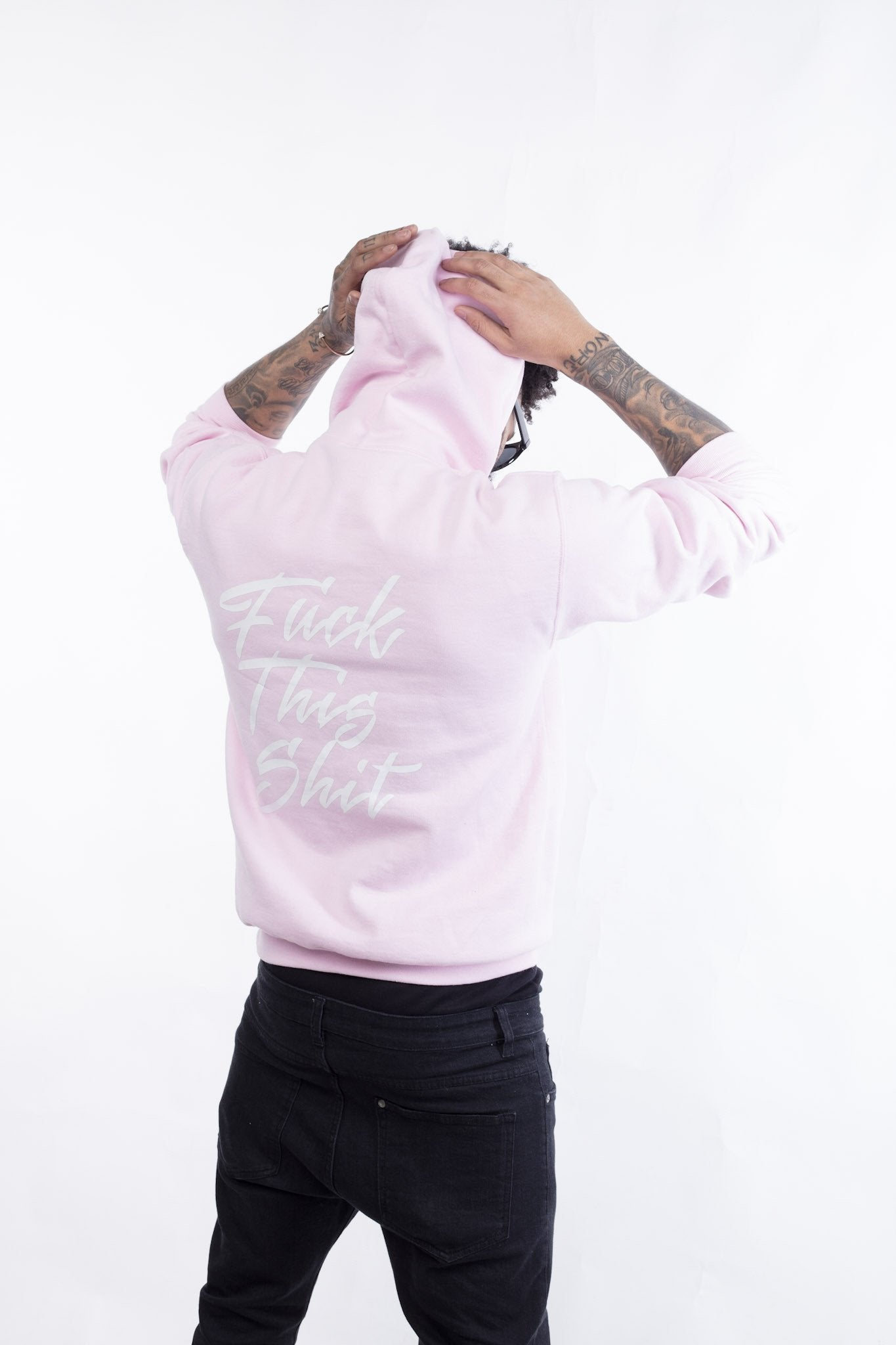 Fuck This Shit Hoodie | Pink - Murderous Clothing