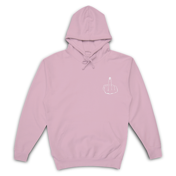 Fuck This Shit Hoodie | Pink