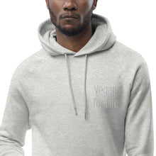Laden Sie das Bild in den Galerie-Viewer, Salat & StahlVegan for Life FairWear Gestickt Hoodie- VEGAN