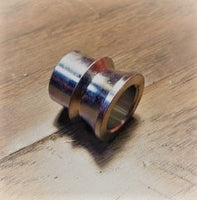3/4 to 5/8 High Misalignment Spacer Zinc Plated Steel 2 Inch Mounting Width