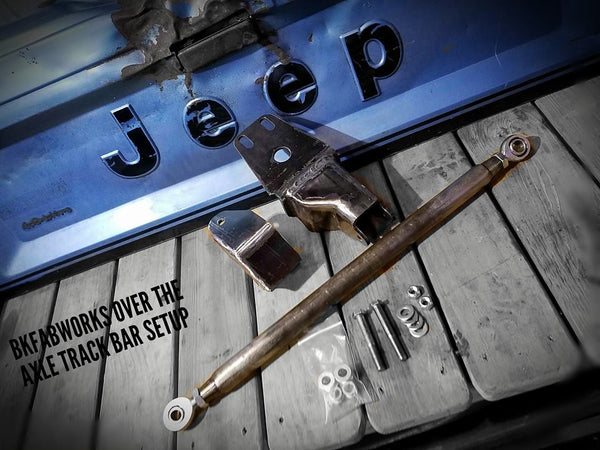 Bkfabworks Over The Axle Track Bar Setup. Xj, Mj, Zj & Tj.