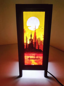 Positive Energy Paper Lamp Rectangle