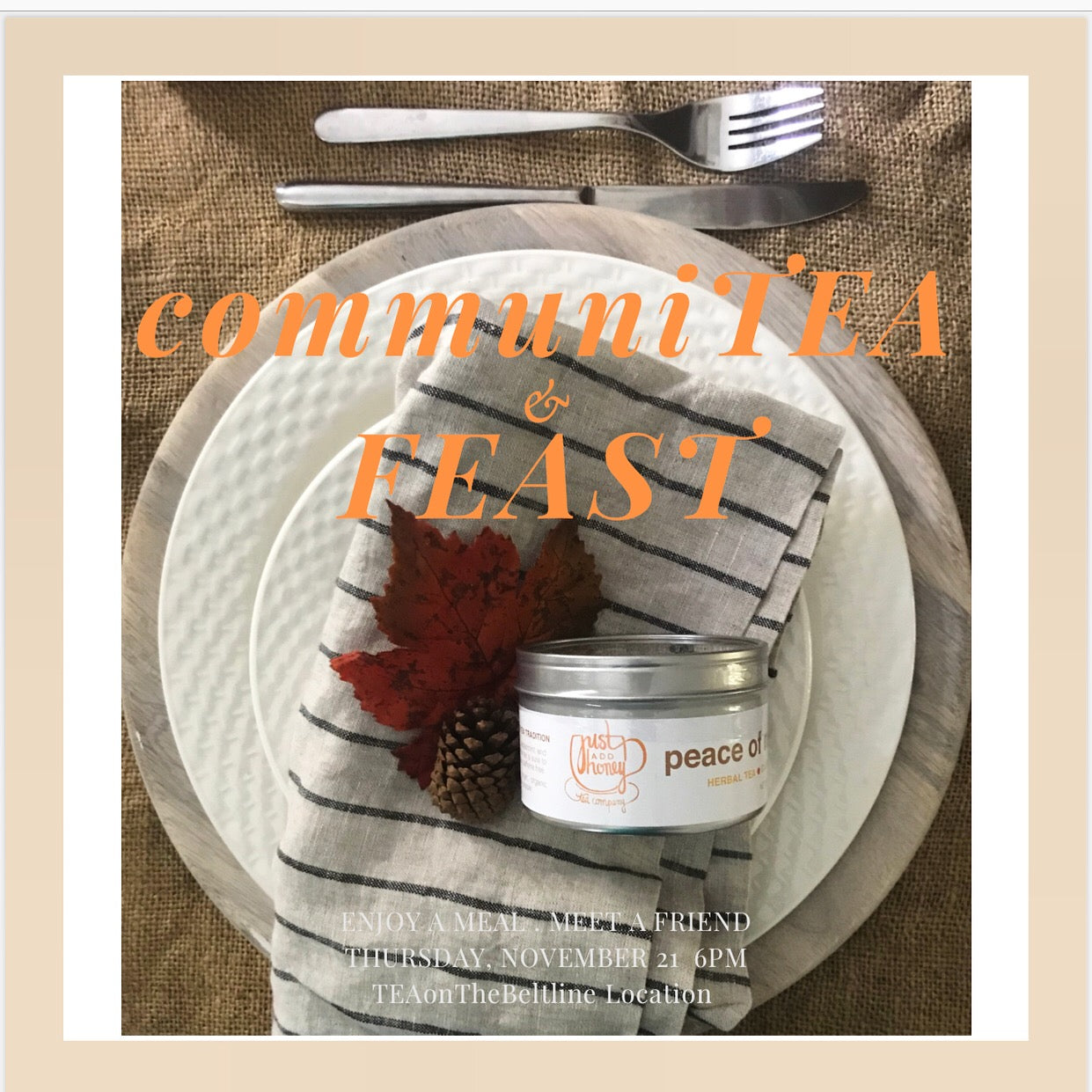 communiTEA and FEAST