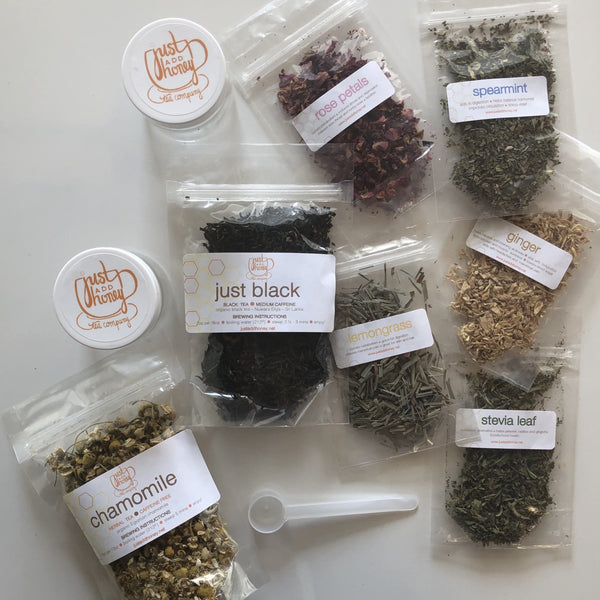 tea blending box