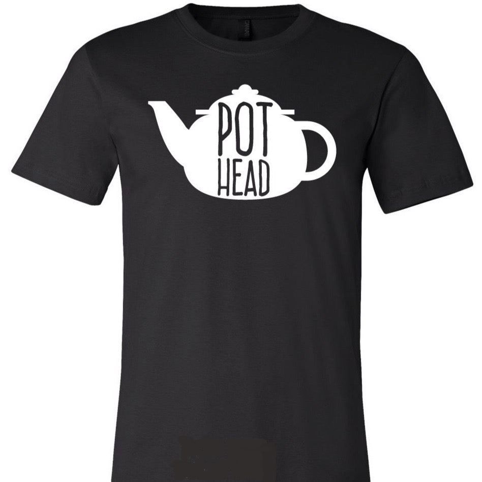 pot head TEA shirt