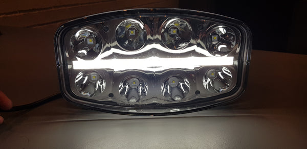 LED spot light with DRL - AUTOMOTIVE LIGHTING SOLUTIONS LTD