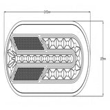 1890 Rear LED Combination Light - AUTOMOTIVE LIGHTING SOLUTIONS LTD