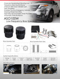 LOW FREQUENCY SPEAKERS - AUTOMOTIVE LIGHTING SOLUTIONS LTD