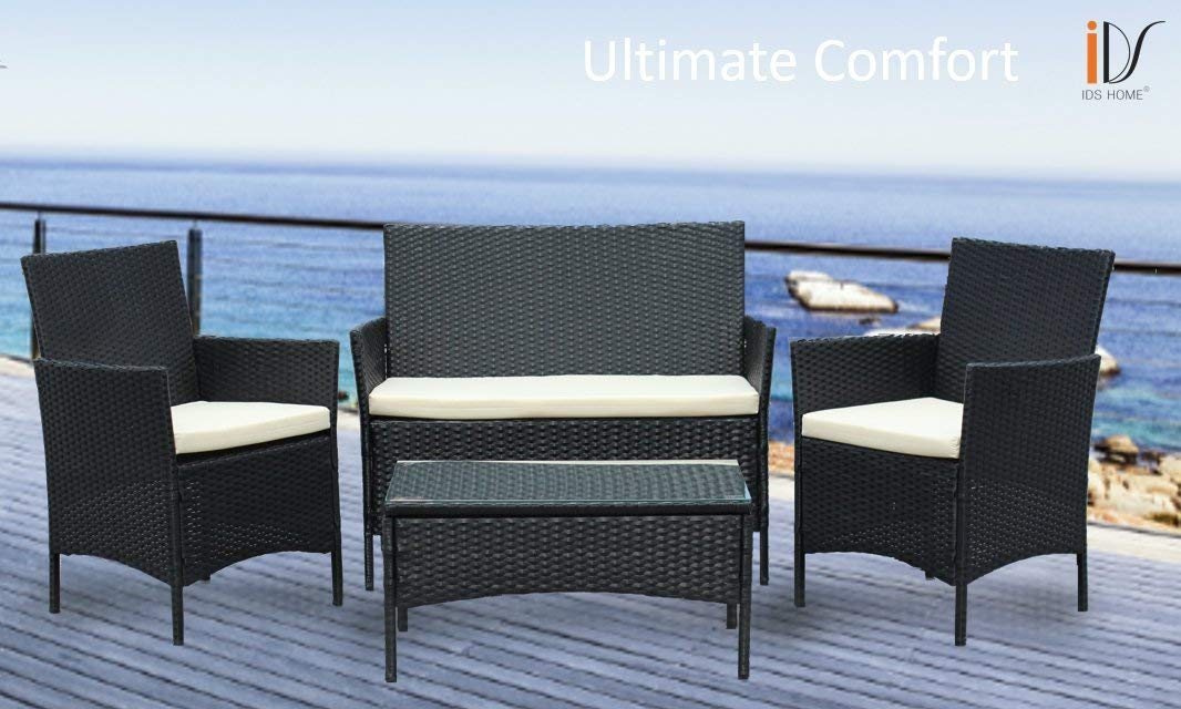Delightful ... IDS Home Patio Furniture Set Clearance Rattan Wicker Patio Dining Table  And Chair Indoor Outdoor Furniture ...