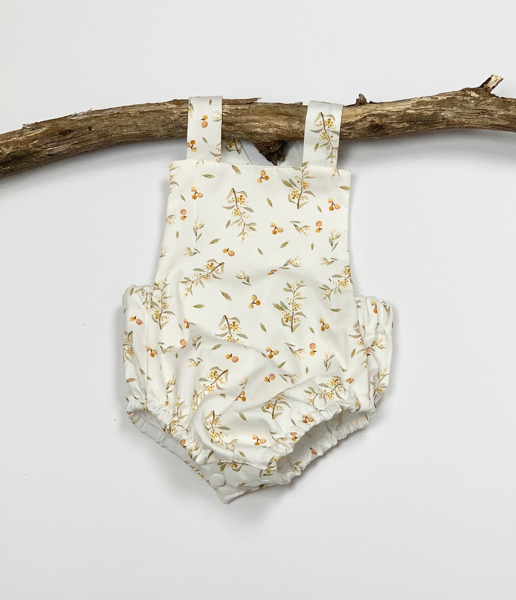 Golden Wattle Romper