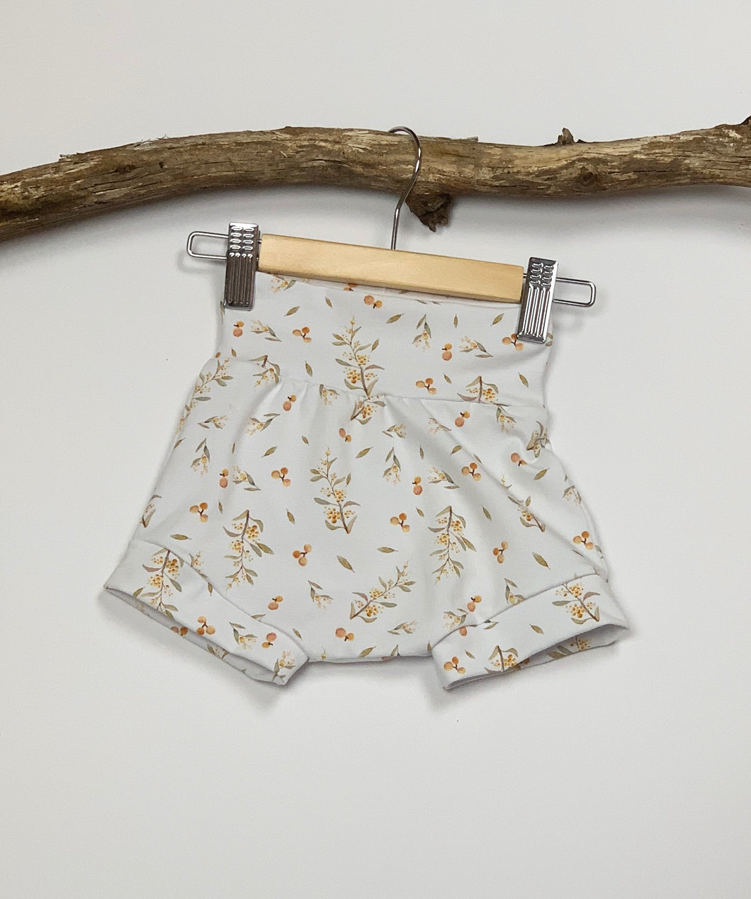 Golden Wattle Stretch Shorts