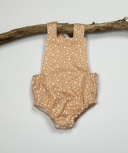 Load image into Gallery viewer, Dusty Pink Dotty Romper