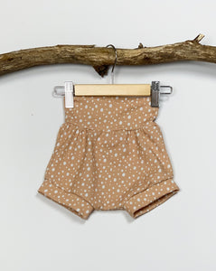 Dusty Pink Dotty Stretch Shorts