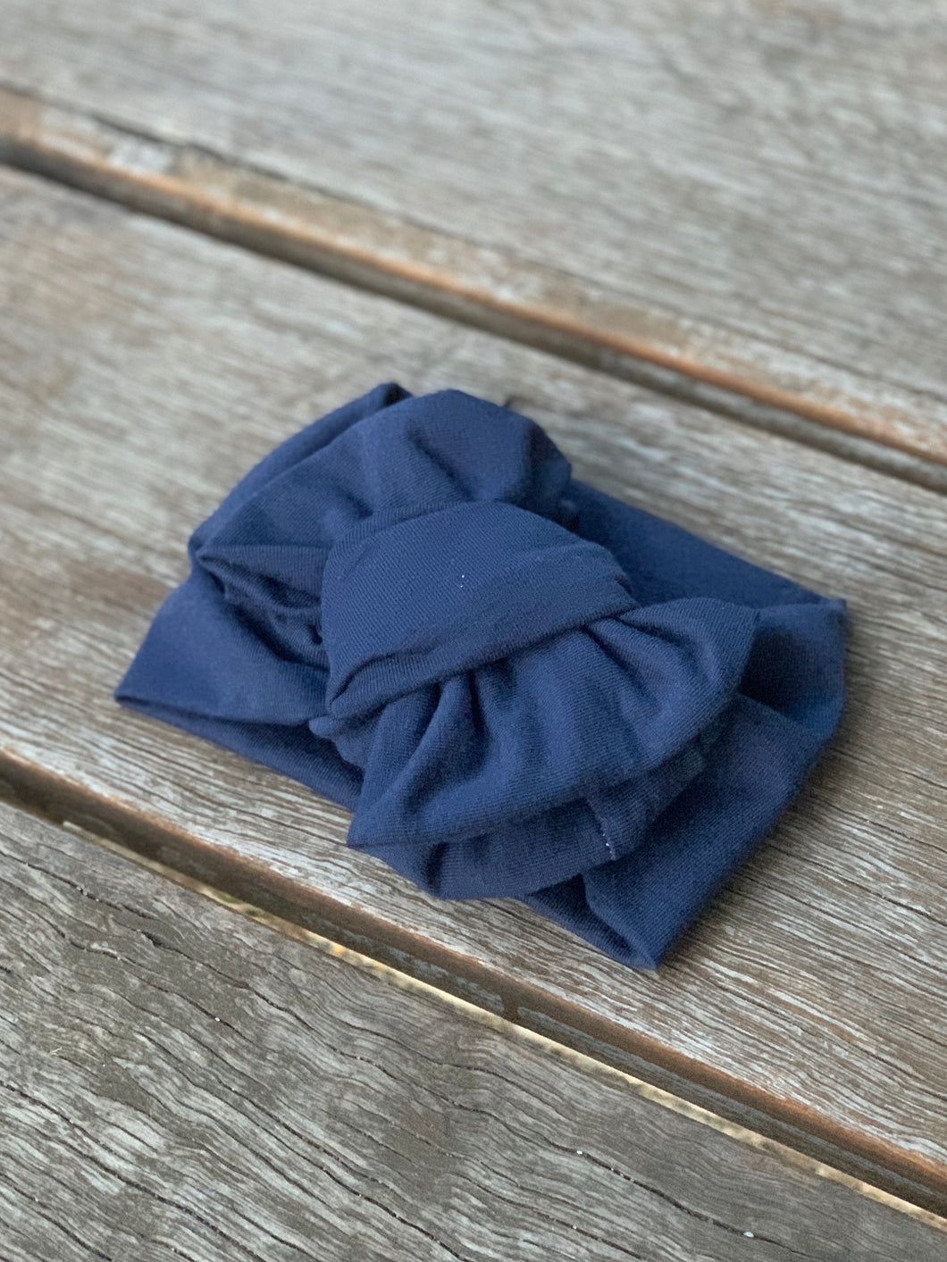 Navy Stretch Headband
