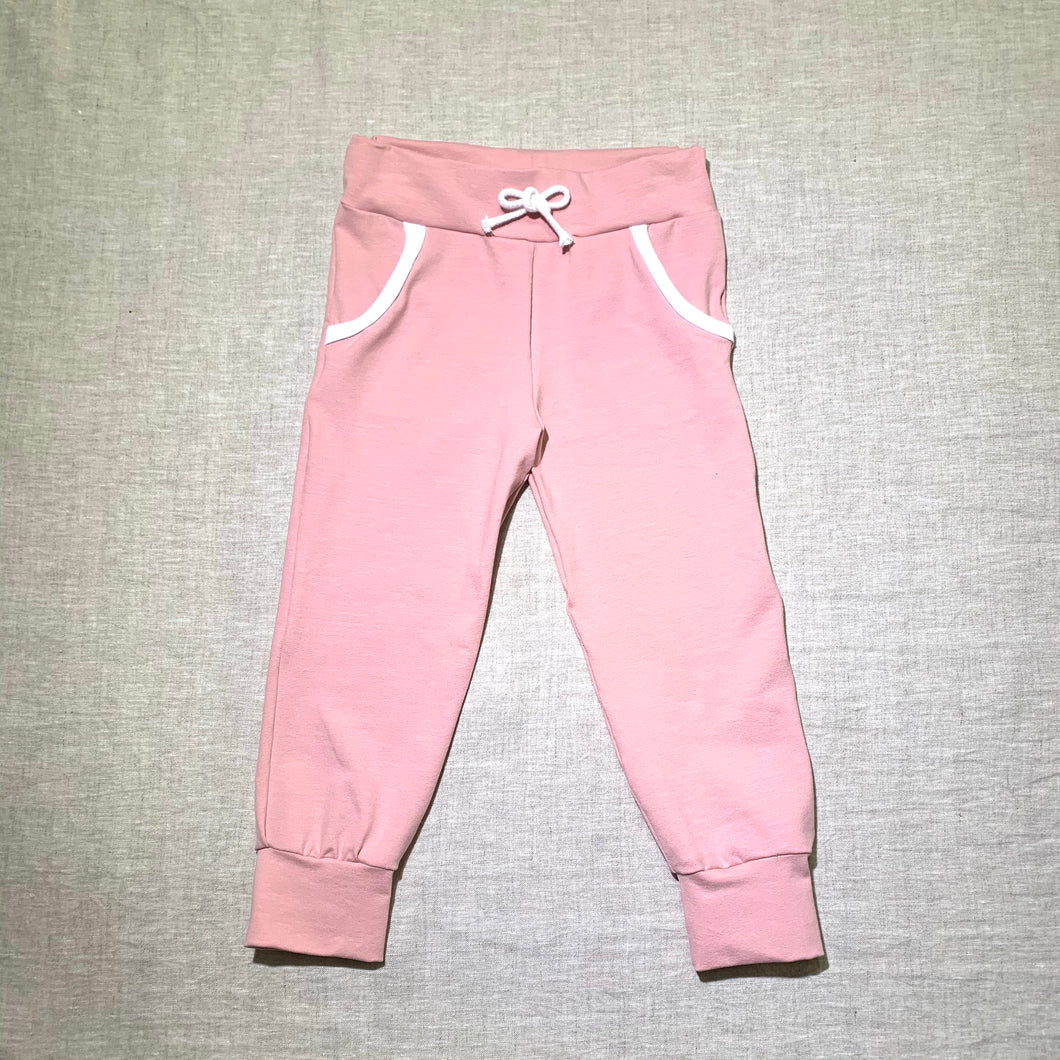 Dusty Pink Pants