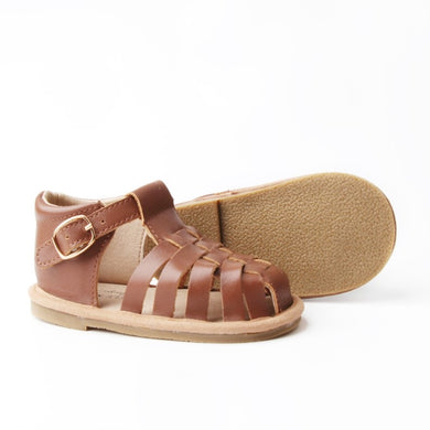 Leather Tan Sandal