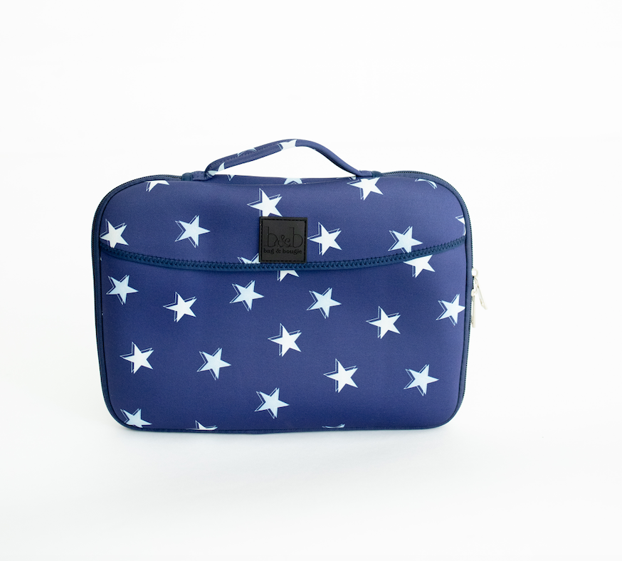 *NEW* Mobile Baby Change Pad - Blue Star