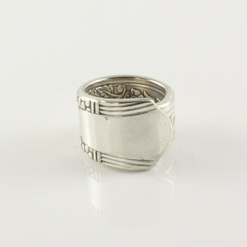 Antique Silver Spoon Ring (Size I)