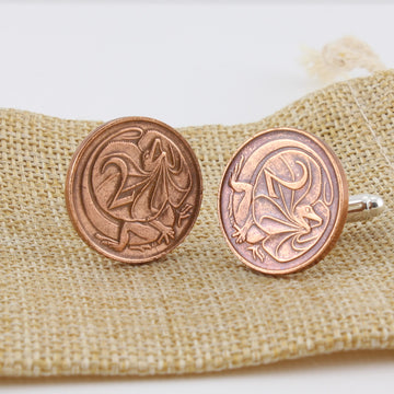 Australian Two Cent Cufflinks