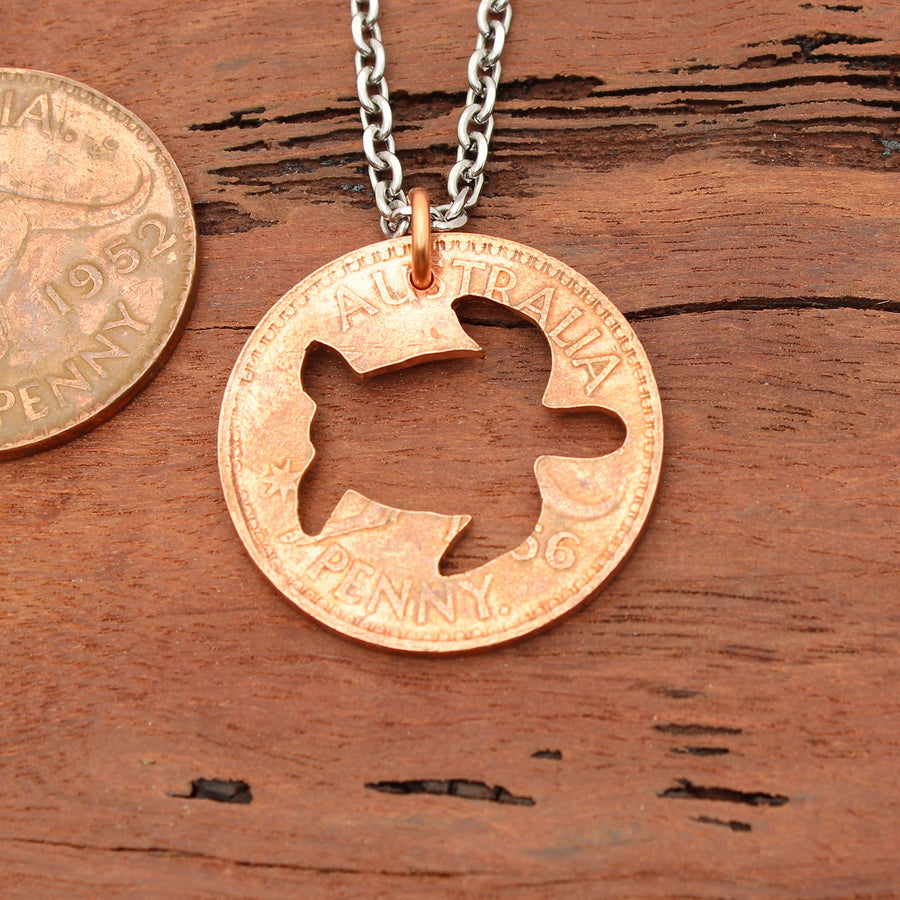 Turtle Coin Pendant