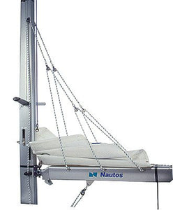 Nautos #002R - Lazy Jack Type B - Medium Size (Boats 32' to 38') - Complete Kit with Rope Included