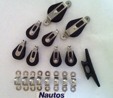 Load image into Gallery viewer, Nautos #002 - Lazy Jack Kit Type B - Medium Size (Boats 32' to 38' Feet) - Hardware Only