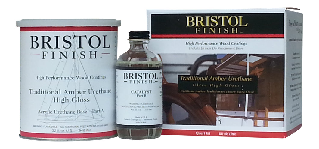 Bristol Finish Traditional Amber Urethane Kit - 32oz.