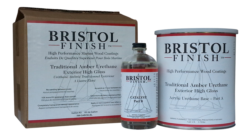 Bristol Finish Traditional Amber Urethane Kit - 1 Gal.