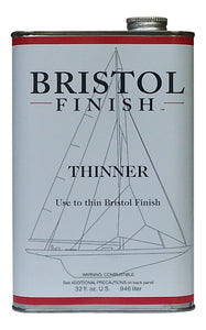 Bristol Finish Thinner for Traditional Amber Urethane- 32 oz.