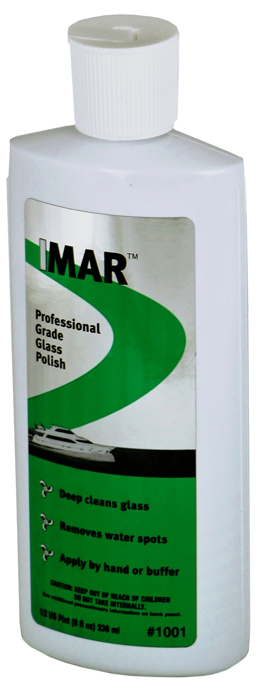 IMAR Professional Grade Glass Polish - 8 Oz Spray Bottle