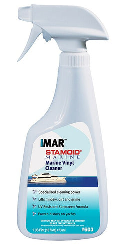 Stamoid Marine Vinyl Cleaner #603 - 16 oz Spray