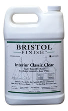 Load image into Gallery viewer, Bristol Finish Interior Classic Clear Water Based Urethane - Soft Satin Finish Gallon
