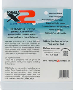 Formula X2 Marine Fuel Additive - 1 Gallon