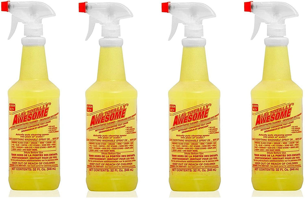 La's Totally Awesome All Purpose Concentrated Cleaner, 4 Pack