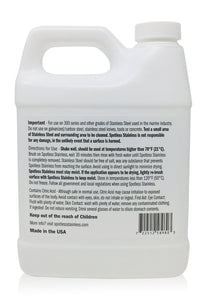Spotless Stainless Rust Remover and Protectant - 1/2 Gallon