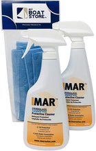 Load image into Gallery viewer, MyBoatStore Imar 301 Strataglass Cleaner Bundle (2 Bottles) with Microfiber Detailing Cloth (3 Total Items)