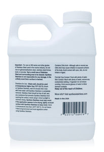 Spotless Stainless Marine Rust Remover and Protectant - 16 Ounce (Pint)