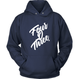 FOUR O THREE - HOODIE - True Story Clothing