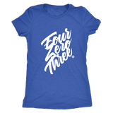 FOUR ZERO THREE - WOMEN'S TEE - True Story Clothing