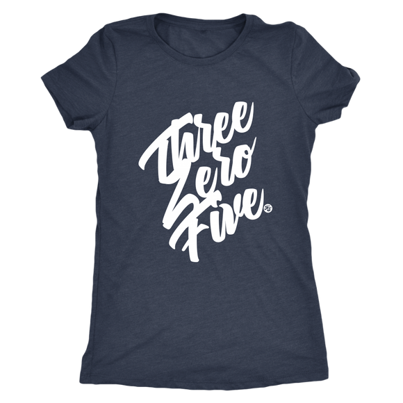 THREE ZERO FIVE - WOMEN'S TEE - True Story Clothing
