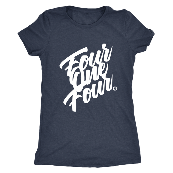 FOUR ONE FOUR - WOMEN'S TEE - True Story Clothing